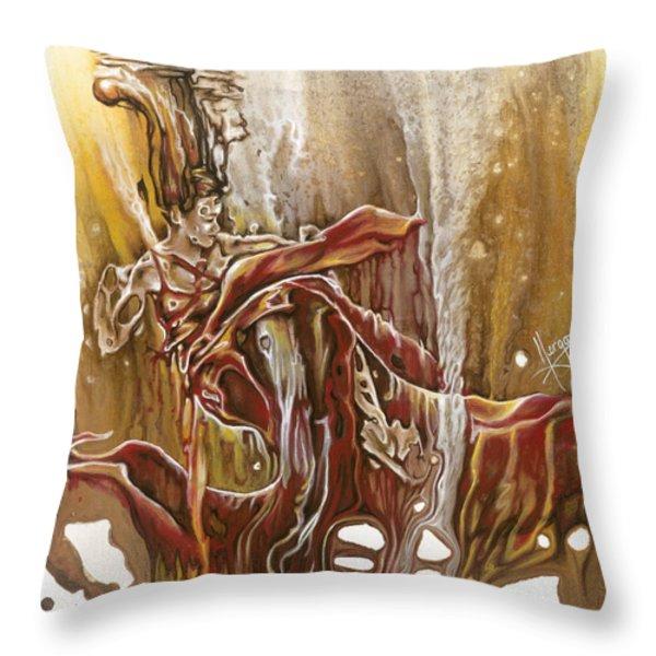 Undertake Throw Pillow by Karina Llergo Salto