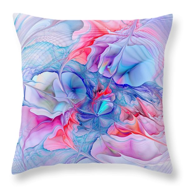 Unicorn Dream Throw Pillow by Anastasiya Malakhova