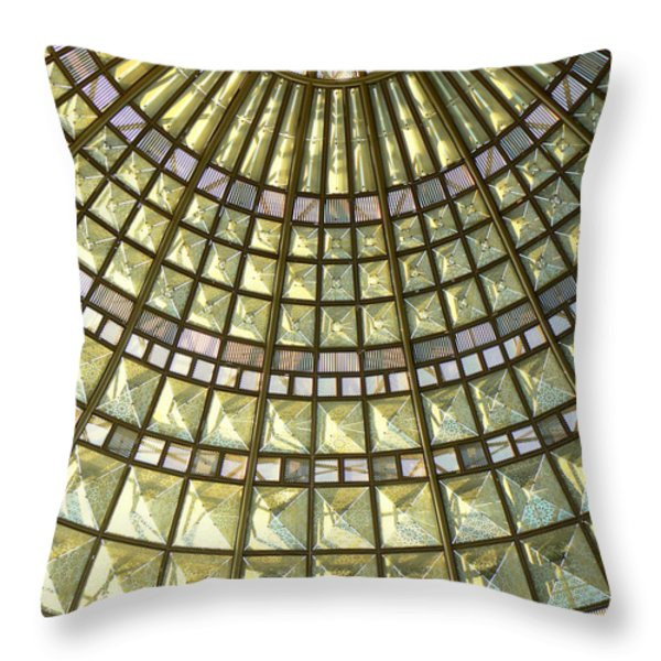 Union Station Skylight Throw Pillow by Karyn Robinson