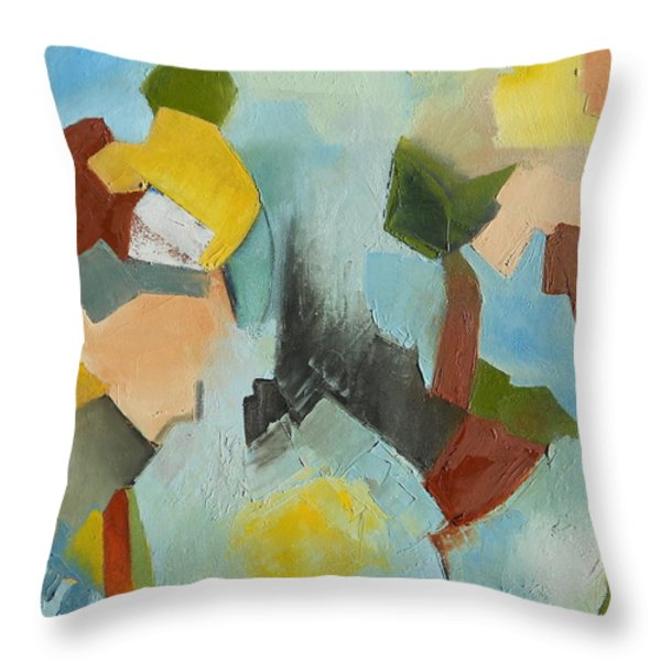 Uniquity Throw Pillow by Danielle Nelisse