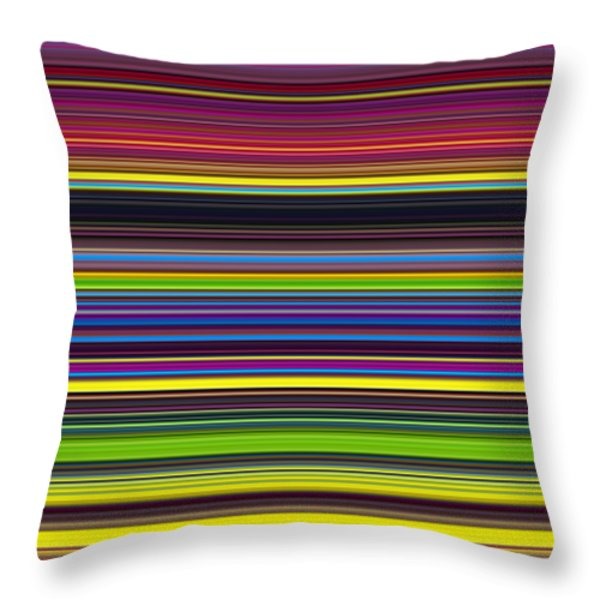 Unity Of Colour 5 Throw Pillow by Tim Gainey