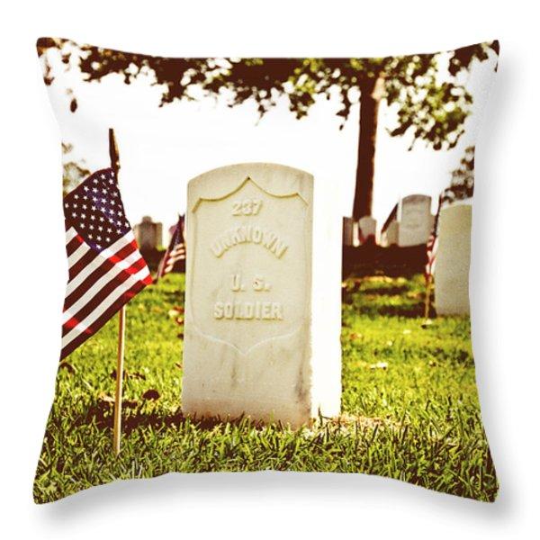 Unknown 237 Throw Pillow by Scott Pellegrin