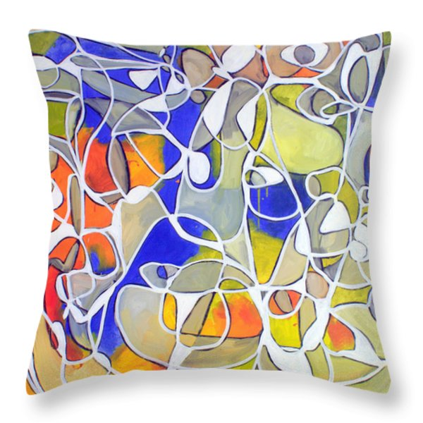 Untitled #30 Throw Pillow by Steven Miller