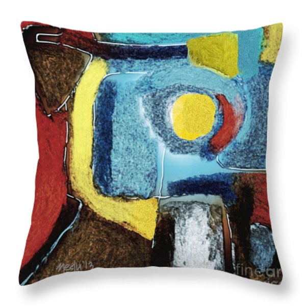 Untitled 354 Throw Pillow by Nedunseralathan R