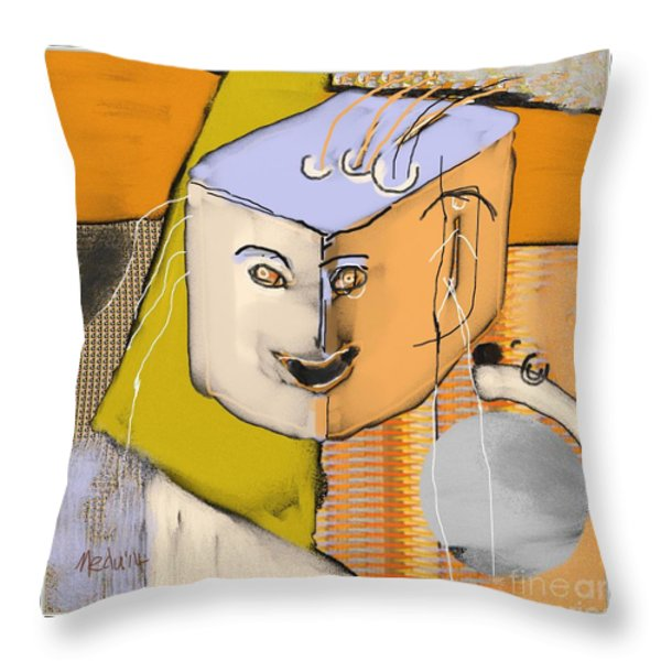 Untitled 357 Throw Pillow by Nedunseralathan R