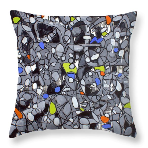 Untitled #41 Throw Pillow by Steven Miller