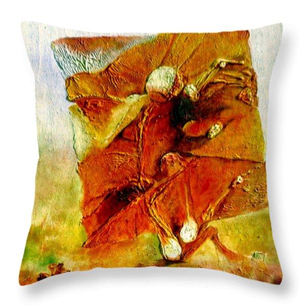 Untitled Throw Pillow by Henryk Gorecki