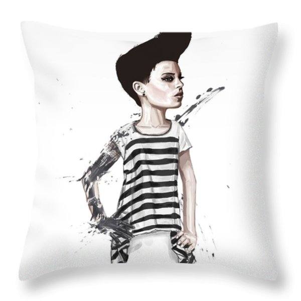 untitled II Throw Pillow by Balazs Solti