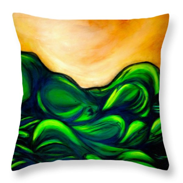 Untitled Throw Pillow by Juliann Sweet