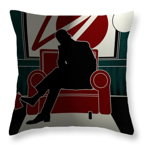 Untitled No.06 Throw Pillow by Unknow