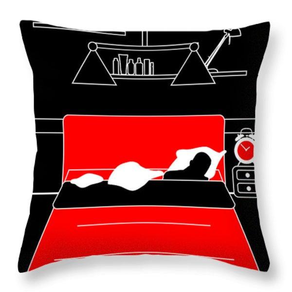 Untitled No.13 Throw Pillow by Caio Caldas