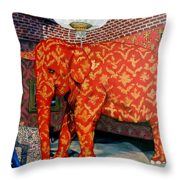 Untitled Throw Pillow by Tom Roderick