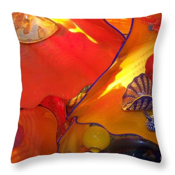 Up Above Throw Pillow by Eunice Miller