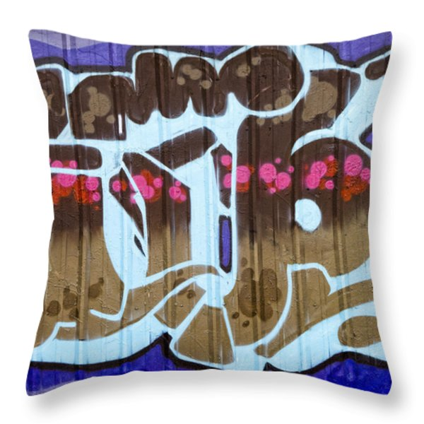 Up Throw Pillow by Carol Leigh