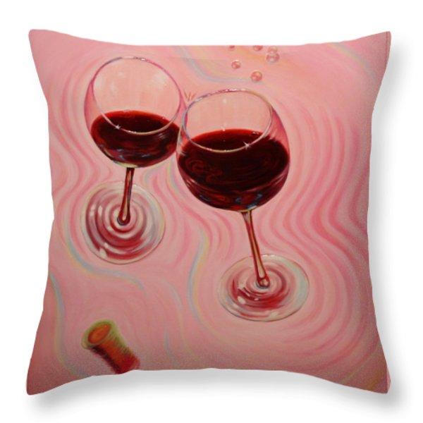Uplifting Spirits II Throw Pillow by Sandi Whetzel