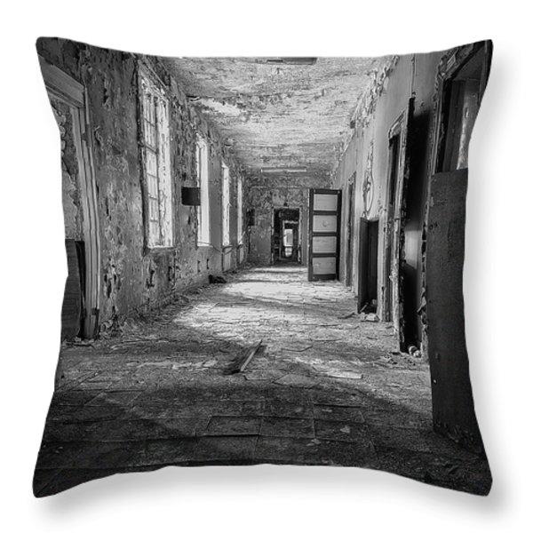 Urban Decay Throw Pillow by Erik Brede