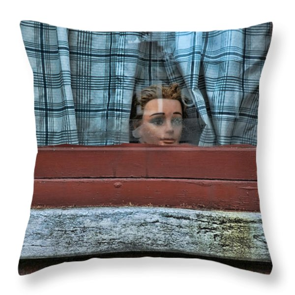 Urban Humor Throw Pillow by Allen Beatty