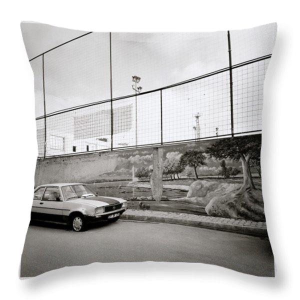Urban Istanbul Throw Pillow by Shaun Higson