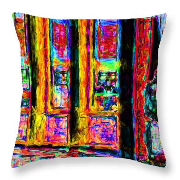 Urban Sprawl - 7D14097 Throw Pillow by Wingsdomain Art and Photography