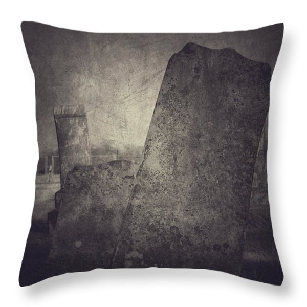 Us Throw Pillow by Trish Mistric