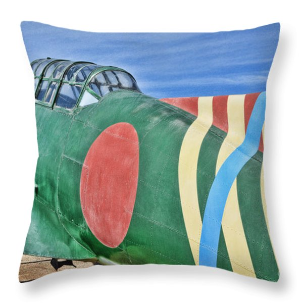 Val Clone Throw Pillow by Tommy Anderson