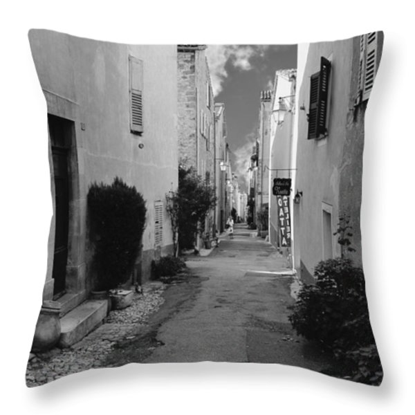 Valbonne - Provence-Alpes-Cote d'Azur - France Throw Pillow by Christine Till