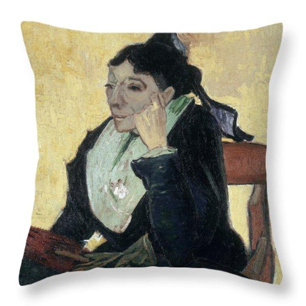 Van Gogh Larlesienne 1888 Throw Pillow by Granger