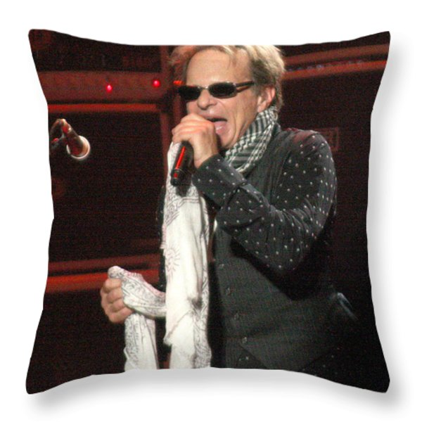 Van Halen-7406b Throw Pillow by Gary Gingrich Galleries