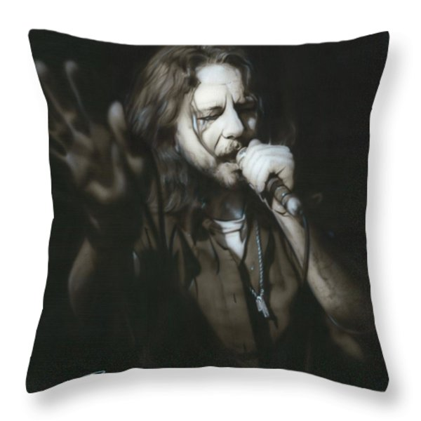 'vedder IIi' Throw Pillow by Christian Chapman Art