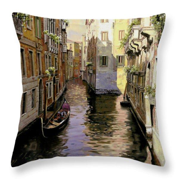 Venezia Chiara Throw Pillow by Guido Borelli