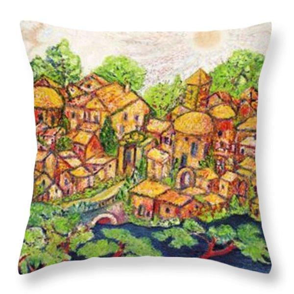 VERONA Throw Pillow by Gunter  Hortz