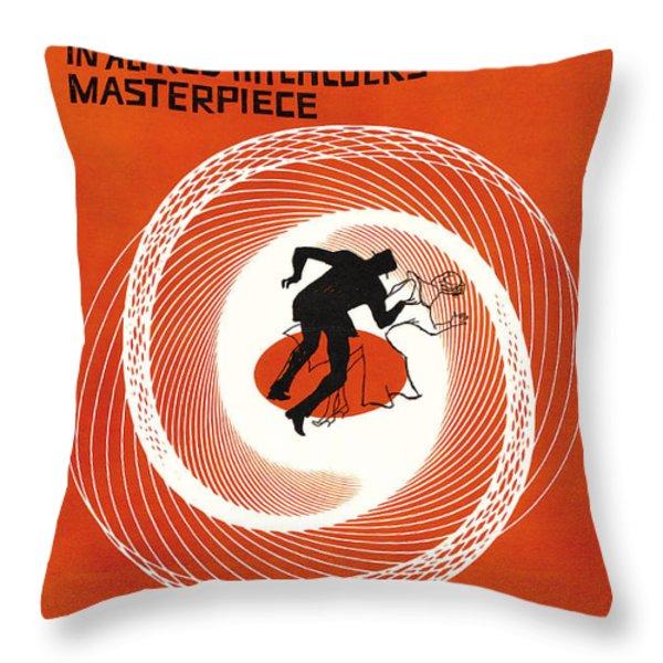 Vertigo Throw Pillow by Nomad Art And  Design