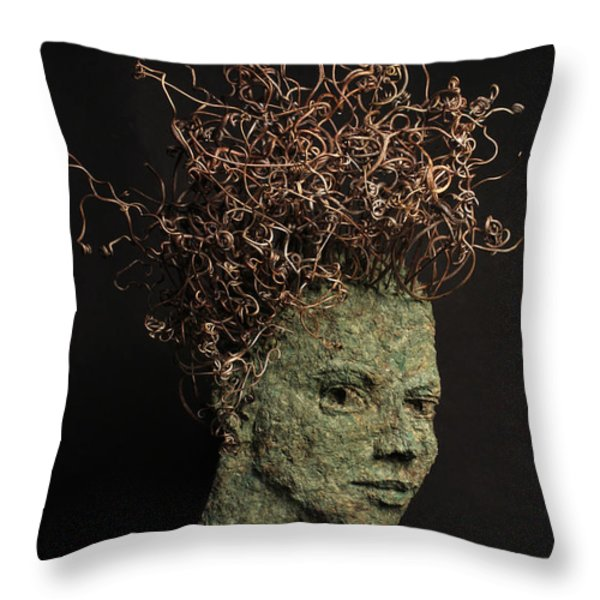 Vino Throw Pillow by Adam Long