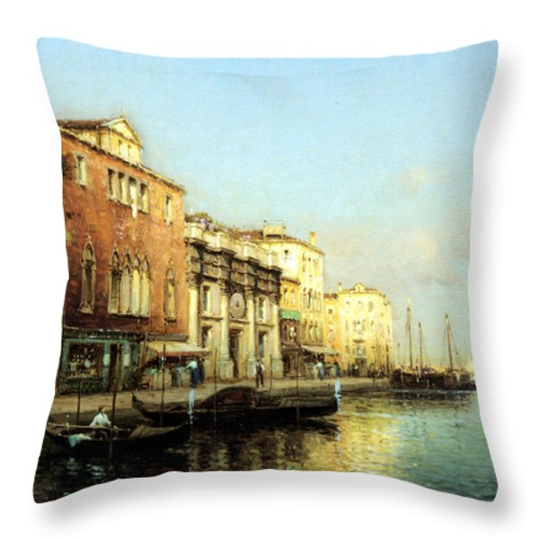 Vinse Throw Pillow by Marc Aldine