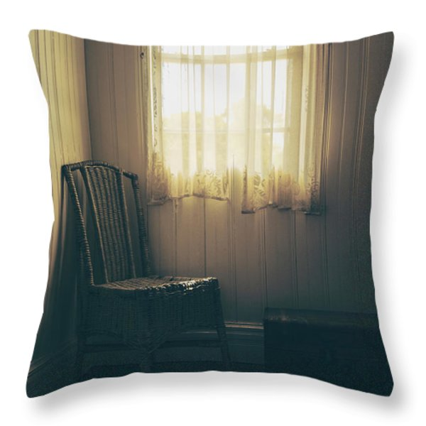 Vintage Charm Throw Pillow by Margie Hurwich