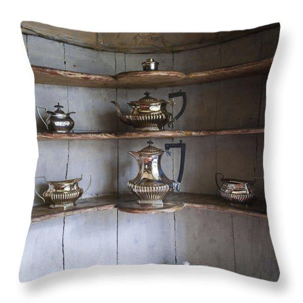Vintage Throw Pillow by Svetlana Sewell