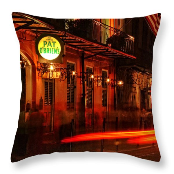 Waiting For A Hurricane Throw Pillow by Greg and Chrystal Mimbs