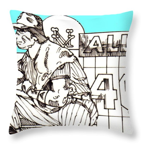 Waiting for the Call Throw Pillow by George Pedro