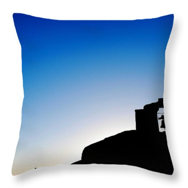 Waiting For The Sun II Throw Pillow by Hannes Cmarits