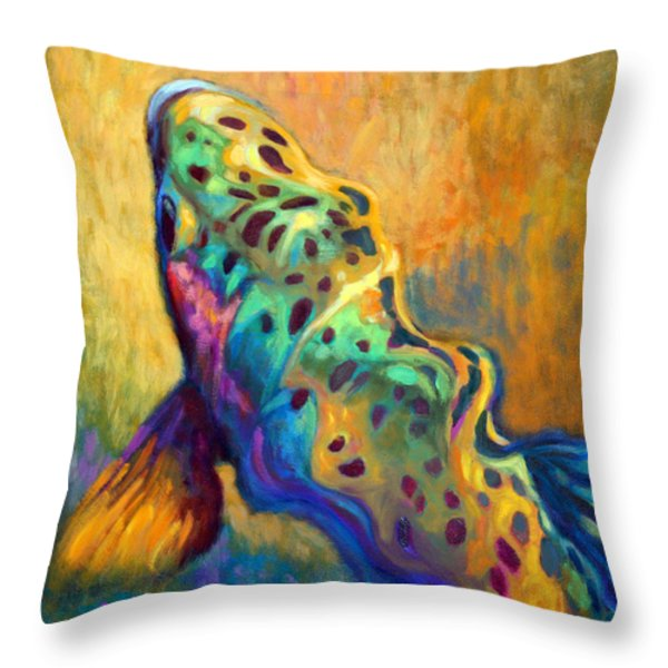 Waiting Patiently Throw Pillow by Savlen Art