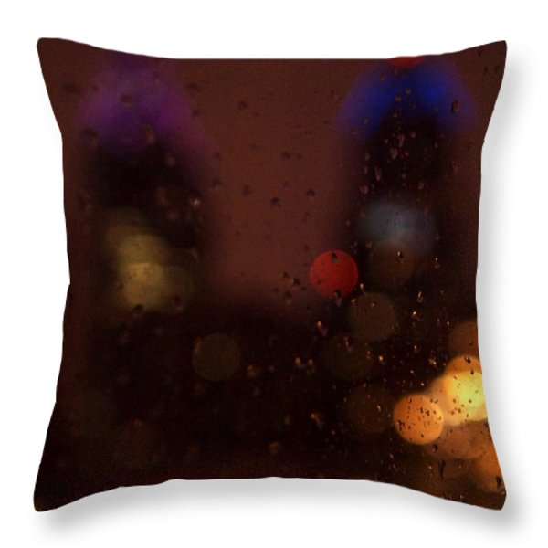 Waiting  Throw Pillow by Rona Black