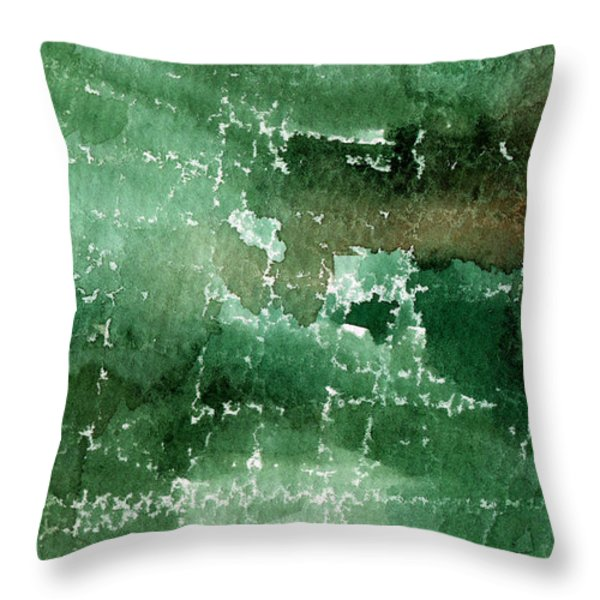 Walk In The Park Throw Pillow by Linda Woods