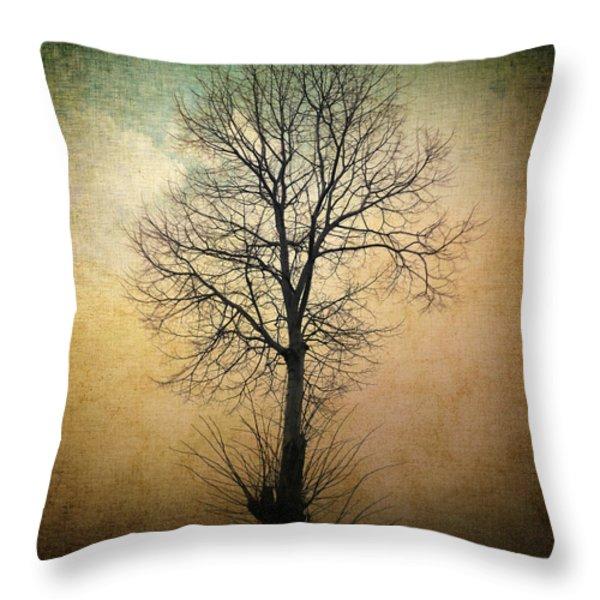 Waltz of a tree Throw Pillow by Taylan Soyturk