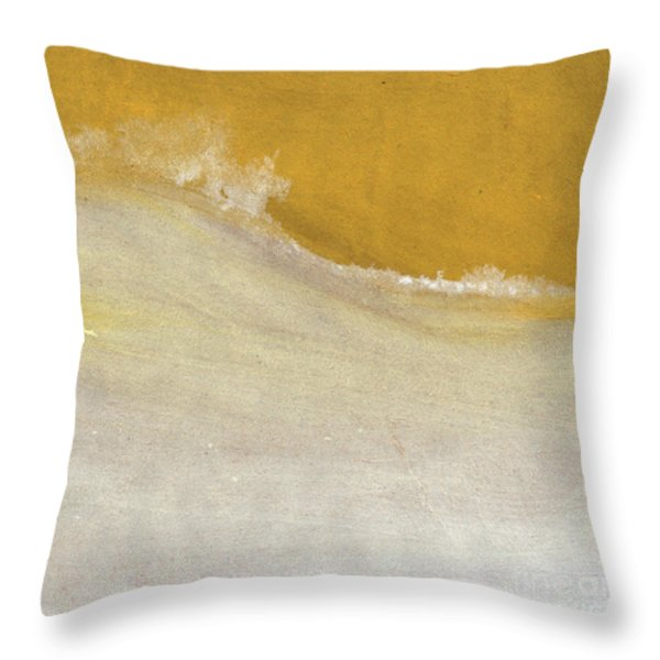 Warm Sun Throw Pillow by Linda Woods