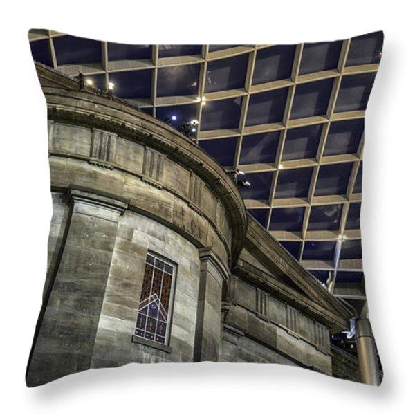 Warped Perceptions Throw Pillow by Lynn Palmer