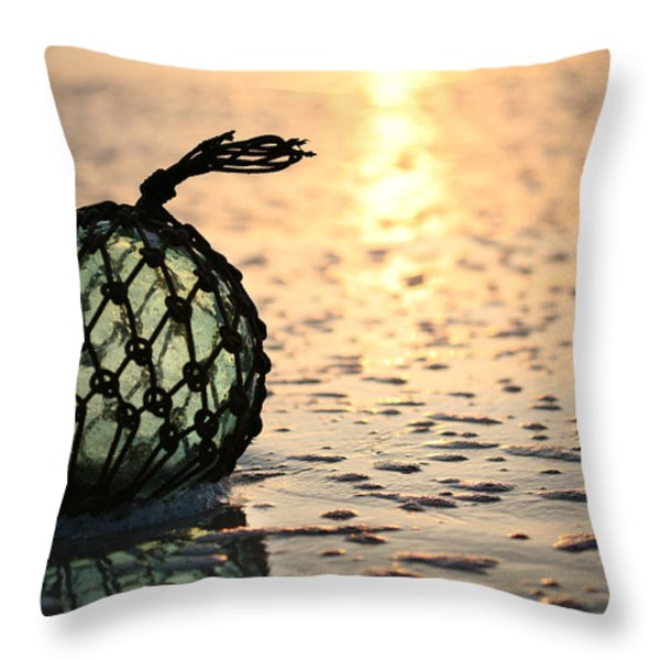 Washed Up Throw Pillow by JC Findley
