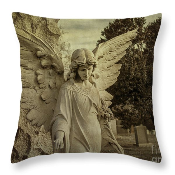 Watch Over Me Throw Pillow by Terry Rowe