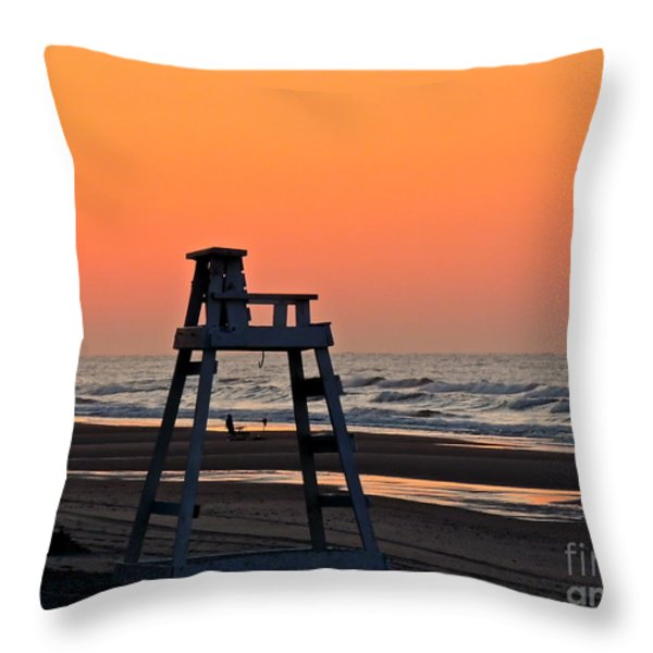 Watching Over You Throw Pillow by Eve Spring