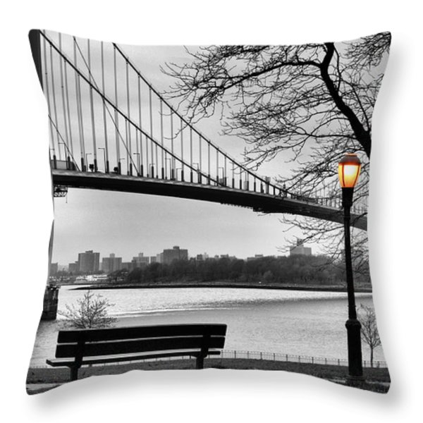 Watching the Nightfall  Throw Pillow by JC Findley