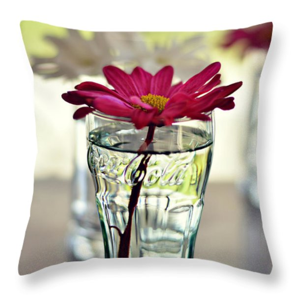 water lovers Throw Pillow by Laura  Fasulo